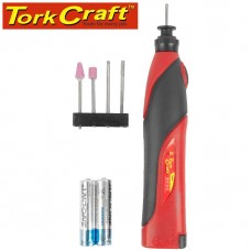 MINI ROTARY TOOL KIT 5PC 3V 2 X AA BAT INCL.
