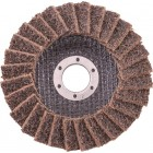 FLAP DISC NON WOVEN 115X22 COARSE YELLOW TCFD