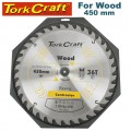 BLADE CONTRACTOR 450 X 36T 30/1 CIRCULAR SAW TCT