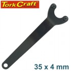 PIN SPANNER 35X4MM BLACK FOR ANGLE GRINDER