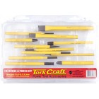 TORK CRAFT CHISEL AND PUNCH SET 12PC