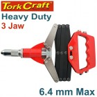 LAZY TONG HAND RIVETER  6.4MM MAX 3 JAW H/DUTY