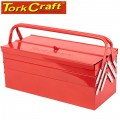 CANTIL. TOOL BOX EMPTY 5 TRAY 468 X 218 X 203MM