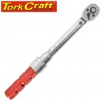 """MECHANICAL TORQUE WRENCH 1/4"""" X 5 - 25NM"""
