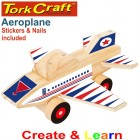 CREATE AND LEARN WOODEN AEROPLANE