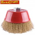 WIRE CUP BRUSH CRIMPED 125MMXM14 BULK
