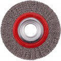 WIRE WHEEL BRUSH 150MM X 25MM STAINLESS STEEL BENCH GRINDER
