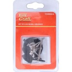 WIRE BRUSHES MINI 5PC NYLON 3.2mm SHAFT ASSORTED SHAPES