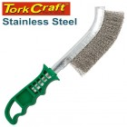 WIRE HAND BRUSH STAINLESS STEEL