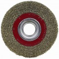 WIRE WHEEL BRUSH 200MM X 25MM