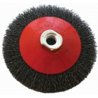 WIRE CUP BRUSH CRIMPED BEVEL PLAIN 115MMXM14 BLISTER