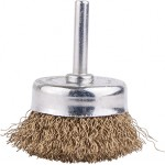 WIRE CUP BRUSH 50MM X 6MM SHAFT