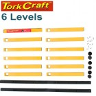 TORK CRAFT STORAGE RACK 6 LEVEL FOR WOOD AND MORE 45KG MAX PER LEVEL