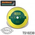 DIAMOND BLADE 230MM CONT. RIM DELROCK