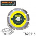 DIAMOND BLADE 115MM SEGMENTED DELROCK