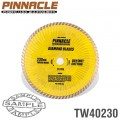 DIAMOND BLADE TURBO WAVE 230MM X 22.22 PINNACLE