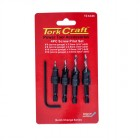 SCREW PILOT/COUNTERSINK SET 4PCE