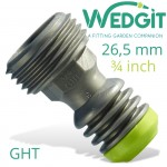"""ACCESORY ADADPTOR 26.5mm (3/4"""" GHT) WEDGIT"""