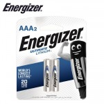 ENERGIZER ULTIMATE LITHIUM:  AAA - 2 PACK (MOQ6)