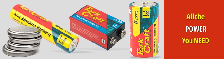 Batteries - all the power you need