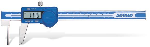 Plot - Accud Accud Digital Tube Thickness Caliper 0-150Mm (0.01Mm)