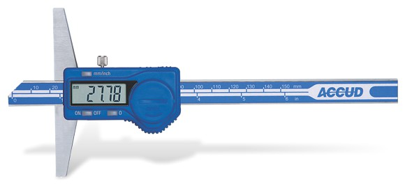 Plot - Accud Digital Depth Gauge 0-300Mm/0-12'