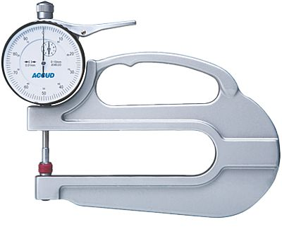Accessories - Accud Thickness Gauge Flat-Flat Tips 0-20Mm
