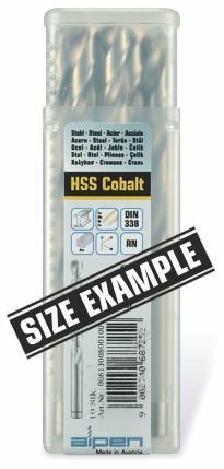 Cobalt jobber drill bits in BULK