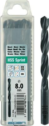 Alpen HSS Sprint jobber hanging industrial pack