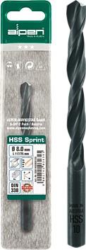 Alpen SPRINT drill bit in plastic wallet