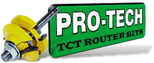 Link to our Pro-Tech router bits catalogue