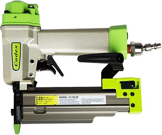 "Cadex 23-Gauge 1-3/8"" Nailer W/ Double Trigger Safety In Systainer"