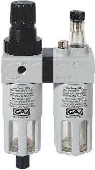 Modular filter/regulator/lubricator - FRL180