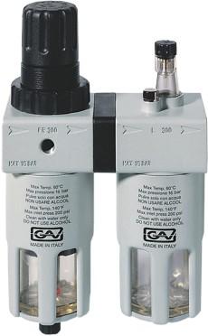 Modular filter/regulator/lubricator