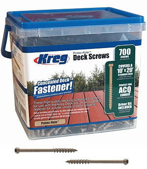 Protec-Kote™ Deck Screws - 700ct.