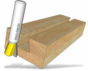Dovetail profile