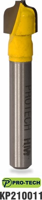 Plunge ogee router bit sample