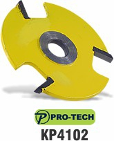 3 Wing slot cutter bit replacement blade by Pro-Tech