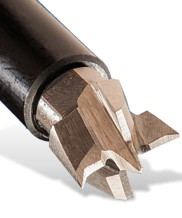 Plunge cutter for DBB Morticer