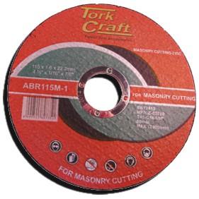 Masonry cutting disc 115mm