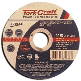 Multipurpose Cutting Disc 115mm