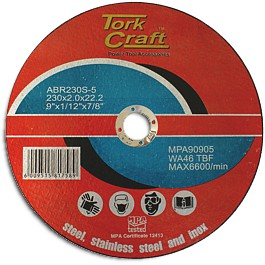 Cutting disc for stainless steel 230mm