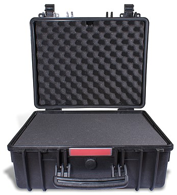 HARD CASE 474X414X216MM OD WITH FOAM BLACK WATER & DUST PROOF (443419)