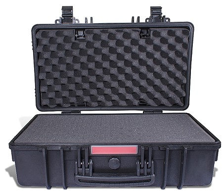 HARD CASE 552X327X198MM OD WITH FOAM BLACK WATER & DUST PROOF (512717)