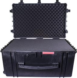 HARD CASE 670X510X372MM OD WITH FOAM BLACK WATER & DUST PROOF (584433)