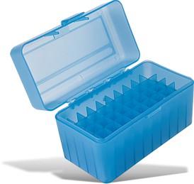 HARD CASE AMMO BOX 155X80X95MM RIFLE 50 ROUNDS (TB909)