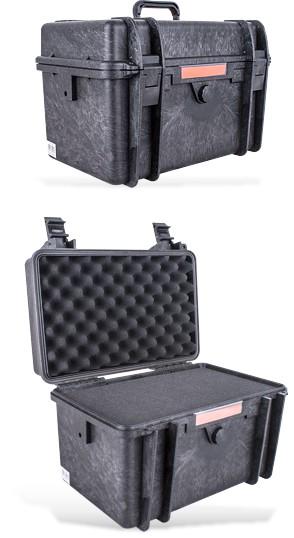 HARD CASE 420X300X290MM OD WITH FOAM BLACK WATER & DUST PROOF (382323)