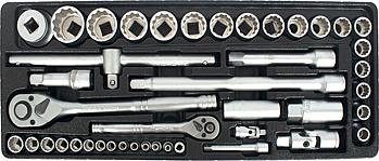 Wrench - TorkCraft 172 Piece Mechanic Tool Box Kit