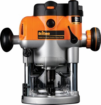 Dual Mode Precision Plunge Router 2400W